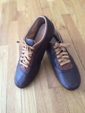 ROWE RYAN BROWN SOFT LEATHER SHOSES MEN  SIZE 11