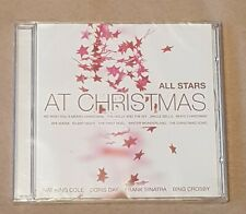 NEW SEALED CD - All Stars At Christmas CD - Nat King Cole Sinatra Crosby Day