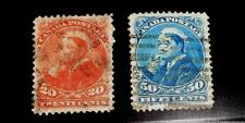 Canada stamp #s 46 - 47 used VF