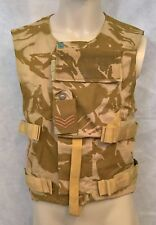 """BRITISH ARMY BODY ARMOUR COVER DESERT CAMO 190/108, 42"""" CHEST NSN:8470-99-897-46"""