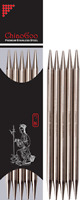 Chiaogoo Stainless Steel Double Point Knitting Needles (15cm or 20cm length)