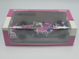 Spark 1:43 Sergio Perez Racing Point RP20 Styrian GP F1 2020 new S6474 resin