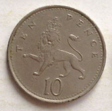 Great Britain 10 New Pence coin 1992 (B)