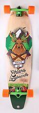 "Mad-deer Graphic Kicktail Longboard Skateboard 40"" x 9.75"" Complete"