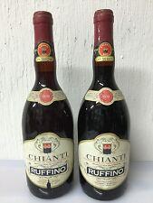 2 Bottiglie - Chianti Ruffino 1979