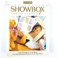 "Burnes Of Boston Baby Edition Showbox Photo Viewer 40 Photos 3.5""X5"" Sealed New"