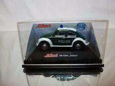 SCHUCO JUNIOR  VW VOLKSWAGEN BEETLE - POLIZEI POLICE - 1:60? - GOOD IN BOX