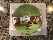 The Ballad Of Jack & Rose Dvd! 2005 Indie Drama! (See) The King & For Ellen