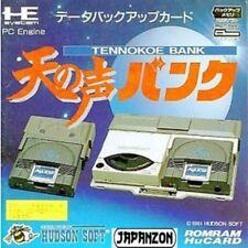 TENNOKOE BANK CARD  PC ENGINE HU CARD HE SYSTEM   JAPAN JP JAPANESE JAPONAIS