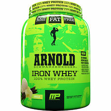 Muscle Pharm Arnold Iron 100% Whey Protein Concentrate Isolate Hydrolysate