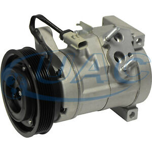 NEW AC Compressor DODGE CARAVAN 3.3L & 3.8L 2007 2006 2005 2004 2003 2002 2001