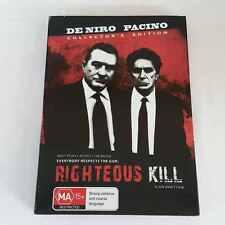 Righteous Kill (DVD, 2009, 2-Disc Set) De Niro Pacino FREE POST
