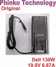 Genuine DELL Slim 130W Power Adapter Charger for XPS 15- 9550