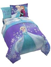 Frozen 7 Pc Full Size Bed In A Bag Set Retails For $80
