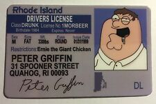 Peter Griffin - Drivers License - Novelty