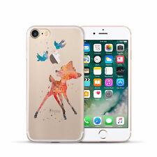 Noxcase iPhone 7 funda protectora Soft Cover Case bolso motivo slim bumper TPU nc139