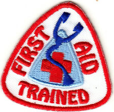 FIRST AID Iron On Patch Nurse Profession Medical Medic