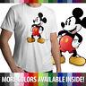 Classic Retro Original Disney Mickey Mouse Mens Crew Neck Top Tee Unisex T-Shirt