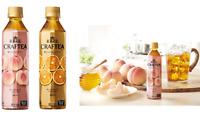 Coca Cola Japan, Kochakaden Craftea, Honey Peach / Orange, 410ml x 24 bottles