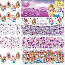 NEW Disney Princess Confetti 1.2oz. (Each) Kids Birthday Party Supplies