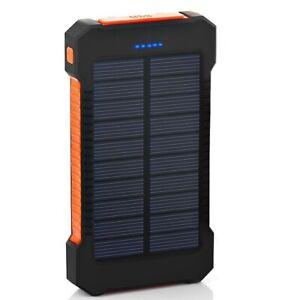 Bateria Portatil Para Celular Solar Para Samsung Iphone Android Gran Capacidad