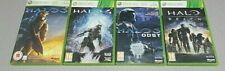 XBOX 360-Halo 3   Halo 4   HALO ODST   Halo Reach *** 4 Game Collection ***