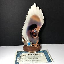 Bradford Exchange Figurine Statue Souls Of Spirit Lee Bogle Native Tender Moment