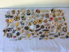 Vintage Brooch Pin Lot of 90 Monet- Sarah Coventry- Napier - other
