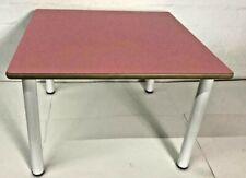 Mobeduc Quadratischer Kindertisch, Holz, Farbe: Rosa, Größe 2, 80 x 80 x 53 cm