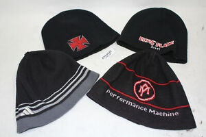 FOUR beanie hats caps collectible clothing Winter PM EP Harley FXR Dyna EPS24025