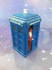 Doctor Who Tardis Policía Caja y 4TH Dr Tom Baker Corgi Diecast Figura de Modelo de Metal