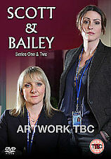 Scott and Bailey: Series 1 and 2 DVD NEW/SEALED season 1 & 2 one & two 1st 2nd