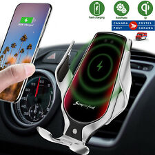 R3 Wireless Car Charger Mount,Auto-Clamping Air Vent Phone Holder,10W Qi
