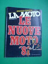 LA MOTO Novembre 1980 68 Tomos A3 KGL Montesa 349 Yamaha XJ 400 Laverda 125 Wild