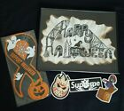 Free shipping! Halloween Magnet Artwork Sign Random stickers Bundle by Gafflezzz