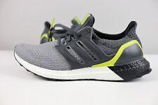 NEW Adidas UltraBOOST Grey Black Green G54003 Running Shoes Mens Multi Sizes