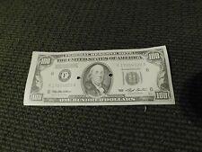 Oceans 11 screen used $100 bill Original authentic prop money Replica