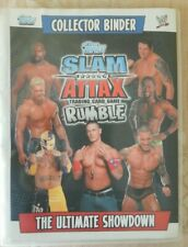 Topps Slam Attack Rumble Trading card game collectors binder cards 2008 185 card