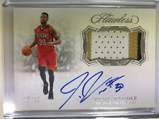 Julius Randle 5/25 2018-19 Panini Flawless Patch Auto New Orleans Pelicans