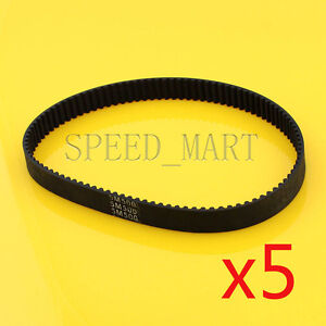 5 X 5M500 HTD5M Timing Belt 100 Teeth Cogged Rubber Geared Closed Loop 20mm Wide