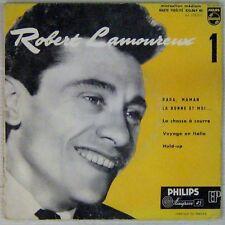 Robert Lamoureux 45 tours Papa maman la bonne et moi 1956