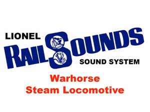 Lionel Warhorse Steam RailSounds Sound System  - BACK IN STOCK