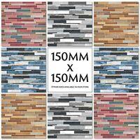 Herringbone Chevron Pattern Tile Stickers Decals Kitchen Transfers 150mm M43