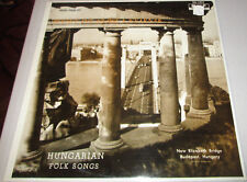 """The Newest Hungarian Folk Songs"" SEALED LP-1960s NYIRI ERZSEBET BOROS LAJOS +!"
