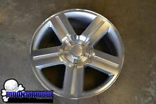 "NEW 24"" GM TEXAS EDITION SILVERADO SUBURBAN SILVER WHEELS RIMS 24x10 GMC"