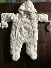 9804b9082 The Essential One Baby Fur Snowsuit / Pram Suit 0 to 3 months Very Warm