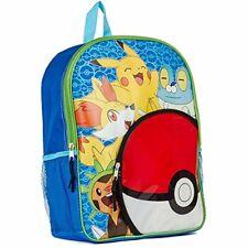 Pokemon Pikachu Froakie Fennekin Chespin 2 Pocket 16 Backpack