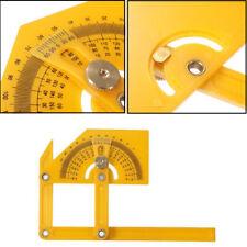 Goniometer Angle Finder Miter Gauge Arm Measuring Ruler Plastic Protractor Tool