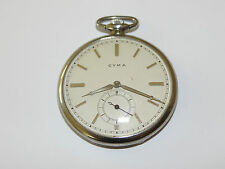 Cyma,Open Face,Taschenuhr,Pocket Watch,TU,Montre,Orologio,Frackuhr,Reloj
