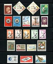 Colombia -- 21 diff used commemoratives from 1962-64